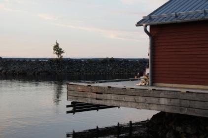 Junkön, Luleå skärgård. The Sauna.